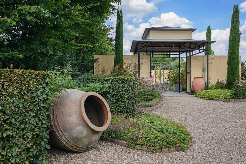 Idea hermosa del jardín fotos de archivo