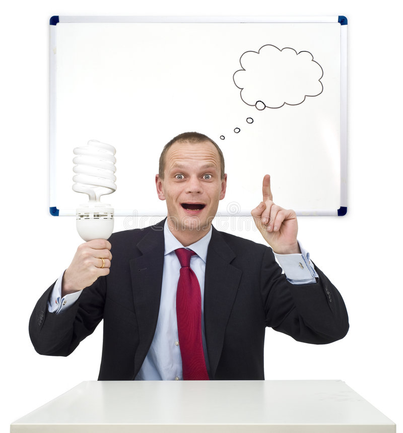 Idea And Innovation Stock Images