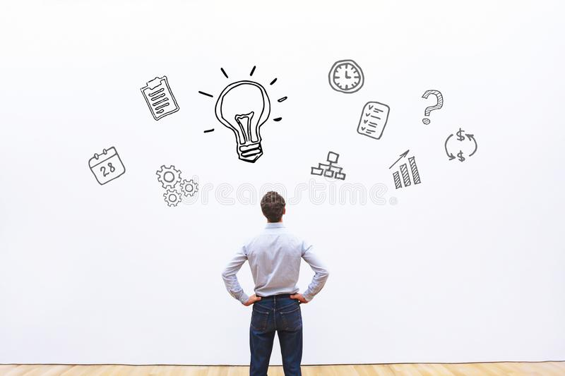 Idea or innovation concept royalty free stock images
