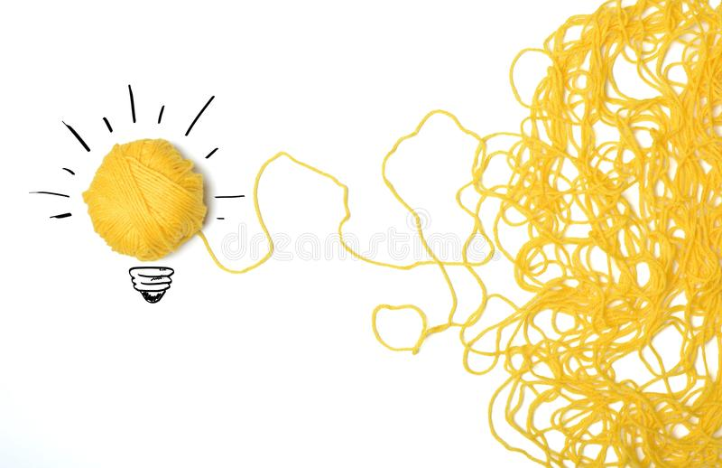 Idea and innovation concept stock images