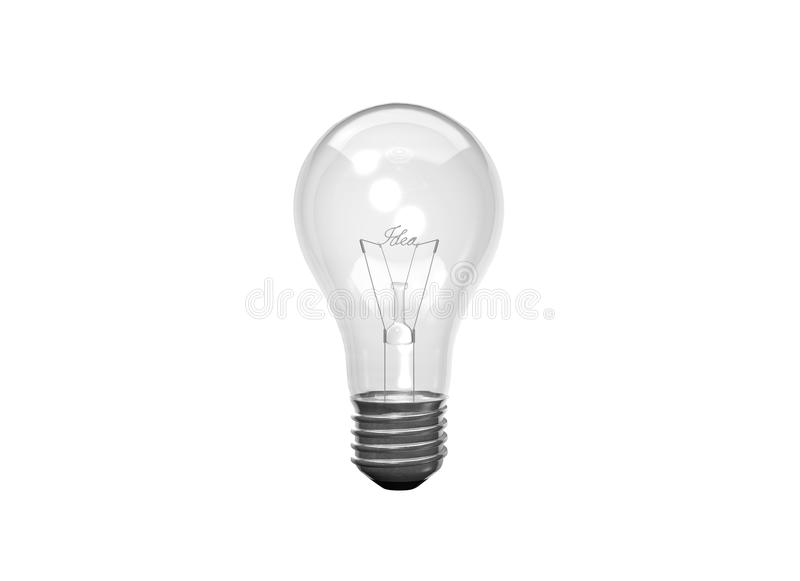 Idea Light Bulb vector illustration