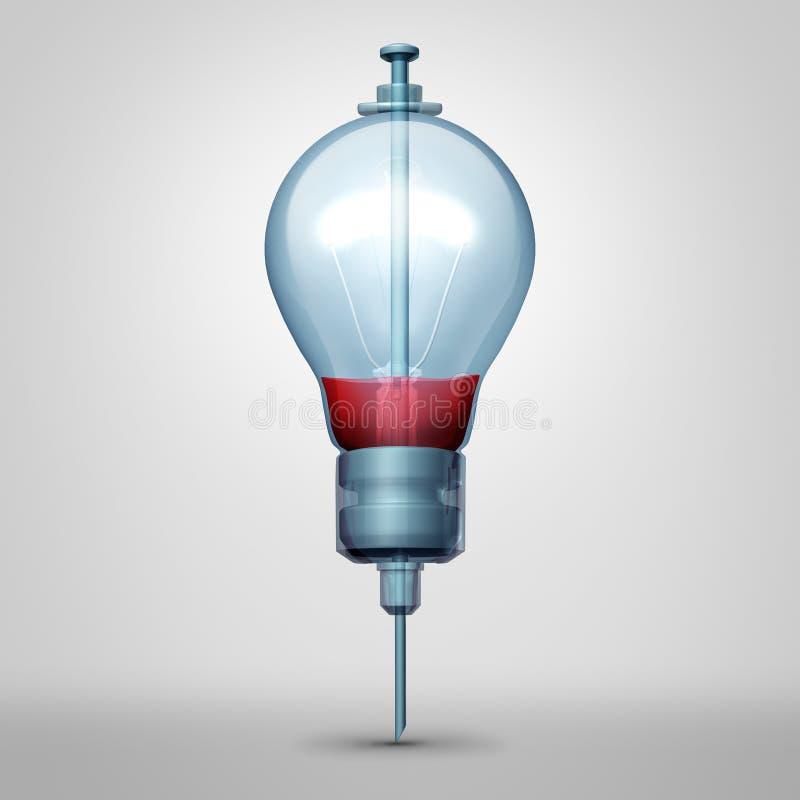 Idea médica libre illustration