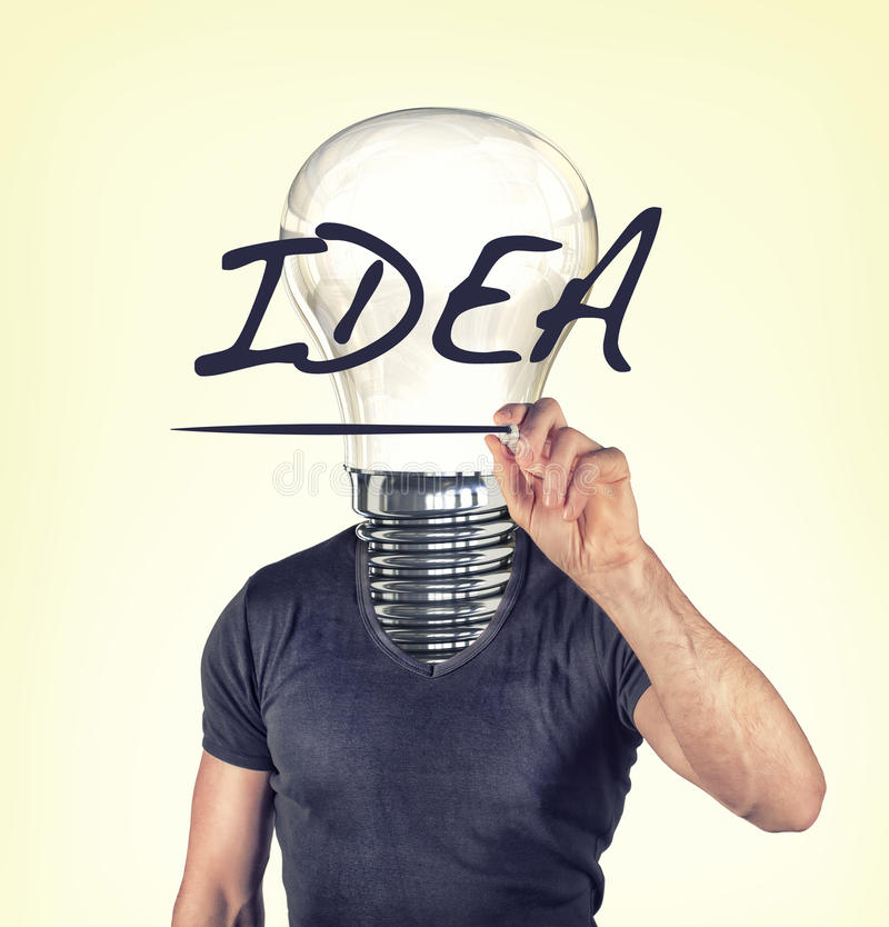 Idea royalty free stock image