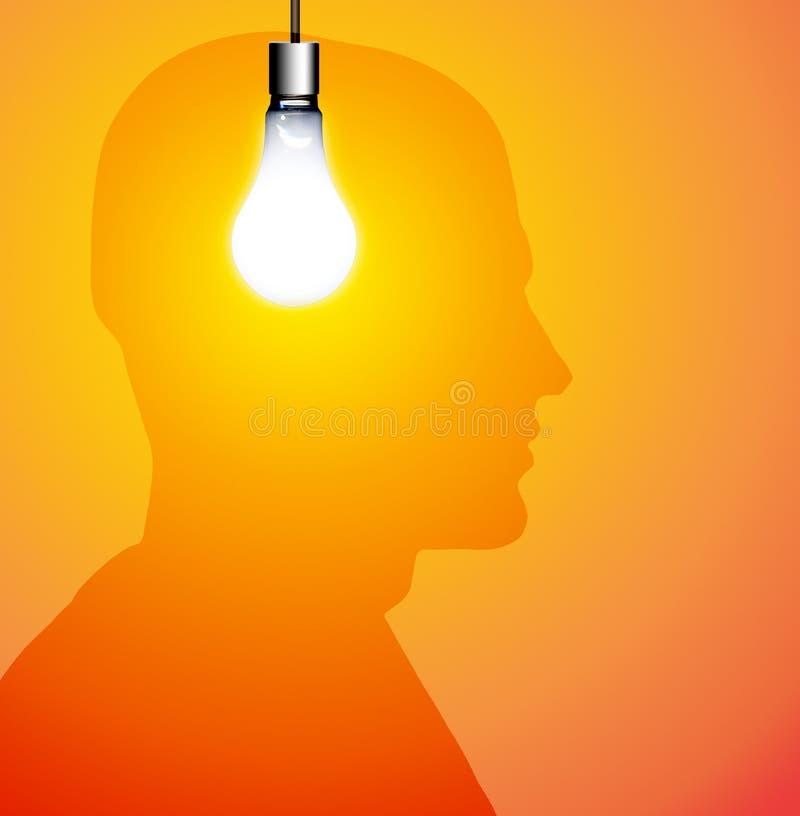 Download Idea Silhouette stock illustration. Image of icon, glow - 5051909
