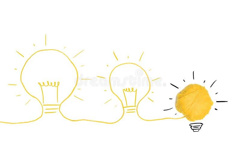 Idea y concepto de la innovación fotografía de archivo libre de regalías