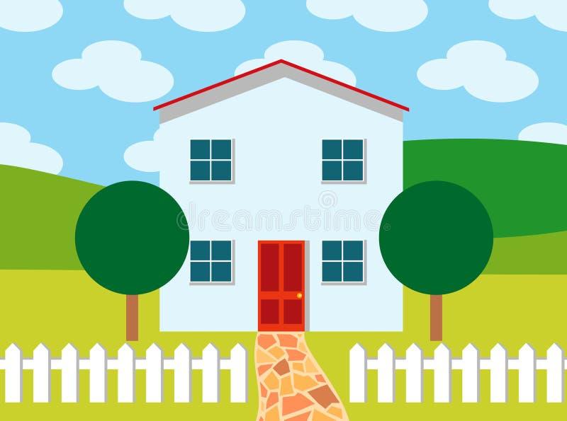 Ideaal huis stock fotografie