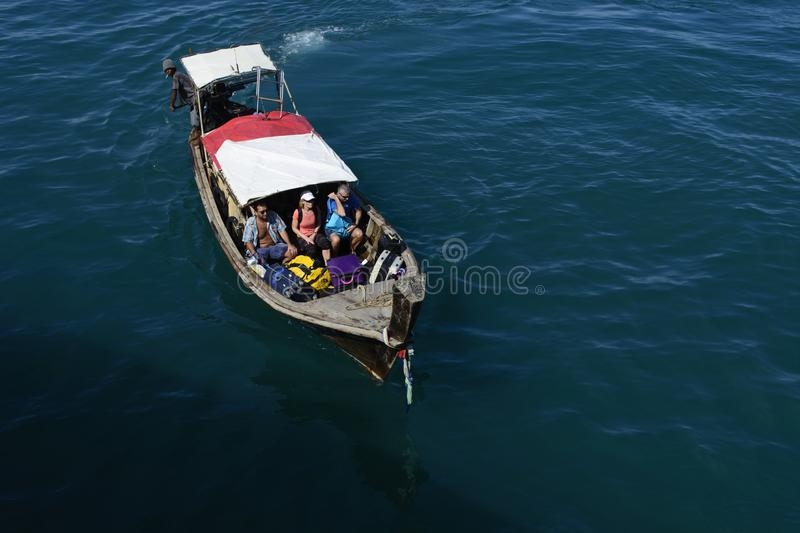 A long tail boat journey can be enjoyed on the vacation to the islands of Thailand . Ideal destination for vacation or holiday with family and friends can be stock photos