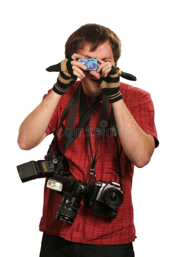 Ideal photographer royalty free stock images