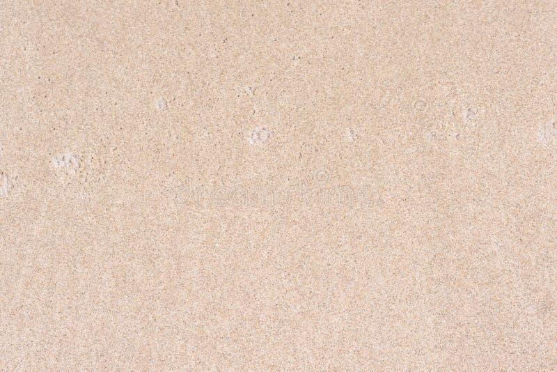 ideal sandtextur f?r bakgrunder Sandig strand f?r bakgrund Top besk?dar fotografering för bildbyråer