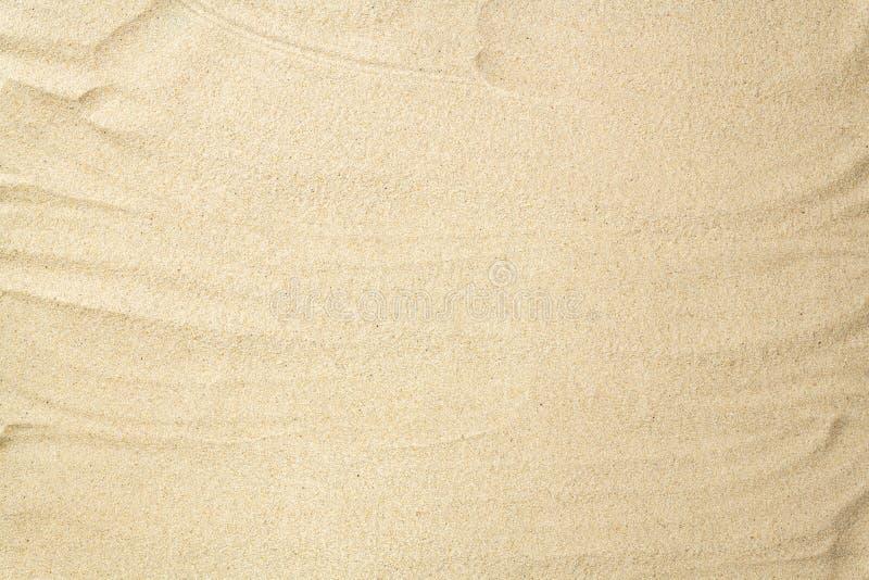 ideal sandtextur f?r bakgrunder Sandig strandbakgrund Lekmanna- l?genhet Top besk?dar arkivfoton