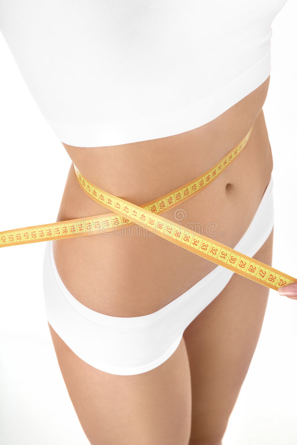 Download The ideal size of a waist stock image. Image of diet, beauty - 8830285