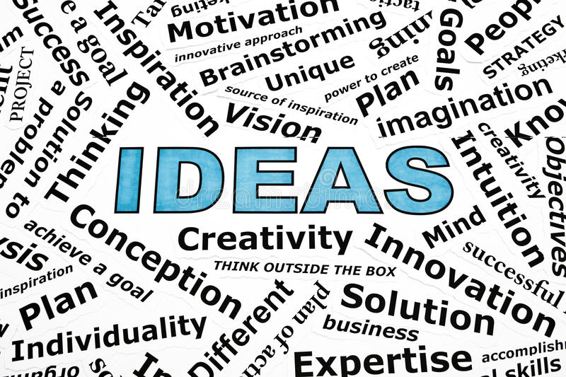 Ideas Concept royalty free stock images