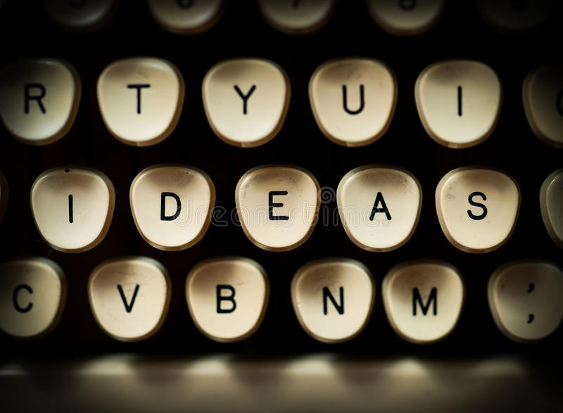 Ideas concept royalty free stock image