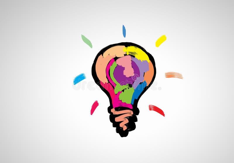 Ideas creativas stock de ilustración