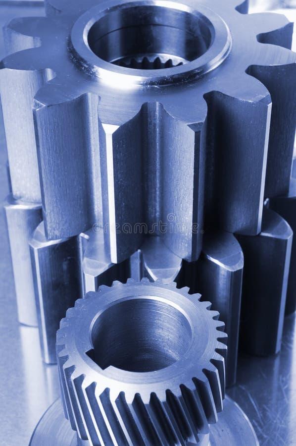 Ideas de la ingeniería en azul fotos de archivo libres de regalías