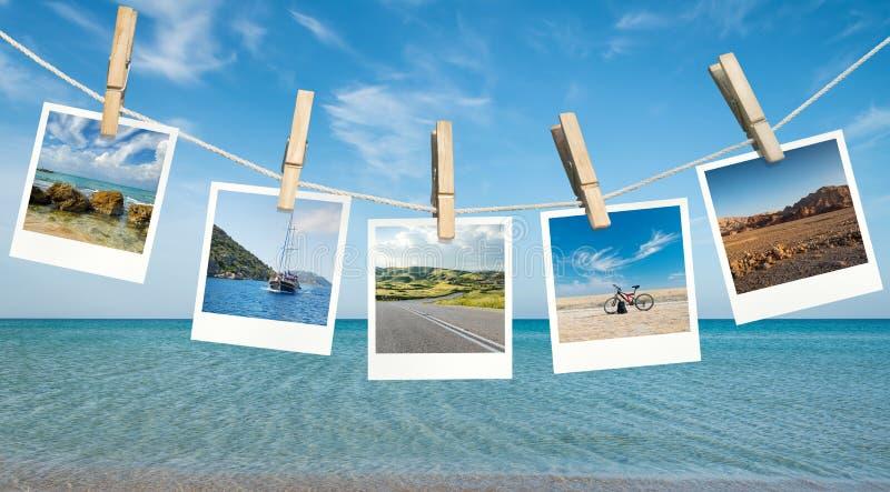 Ideas de las vacaciones de verano foto de archivo libre de regalías