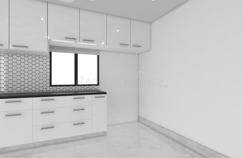 Ideas Del área De La Cocina De Los Gabinetes, Diseño De Concepto De ...