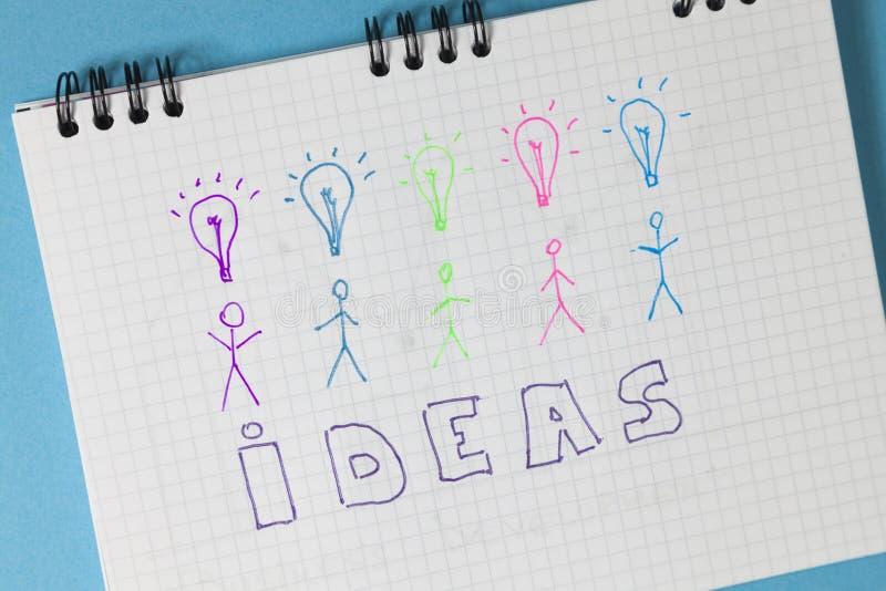 Ideas del concepto foto de archivo libre de regalías