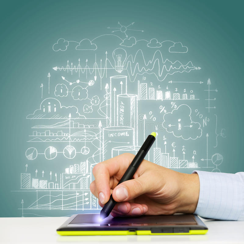 Download Ideas del negocio imagen de archivo. Imagen de cierre - 41901741