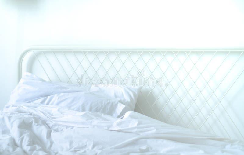 Ideas del sitio de la cama imagen de archivo libre de regalías