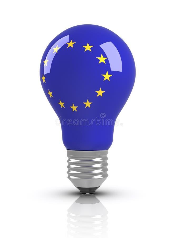 Ideas - European Union Flag royalty free illustration