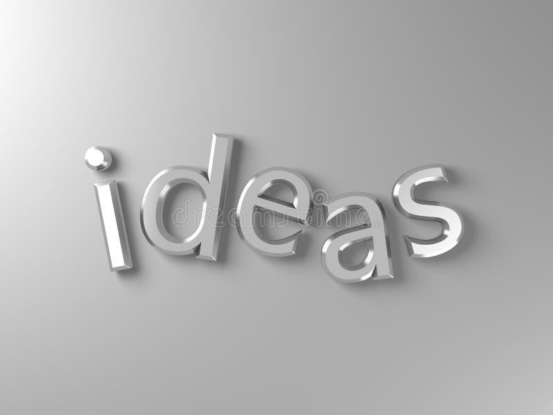 Ideas illustration royalty free illustration