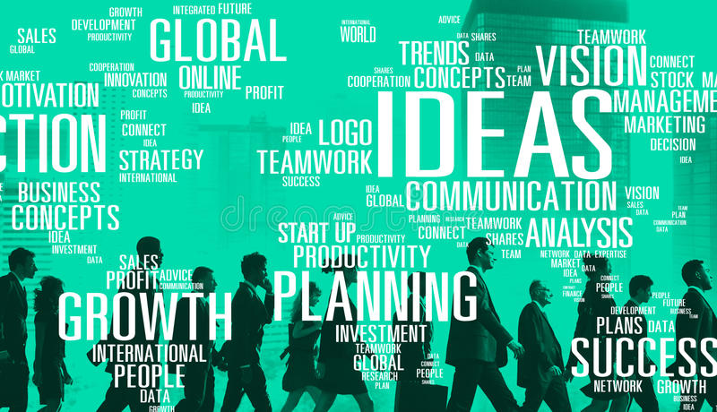 Ideas Innovation Creativity Knowledge Inspiration Vision Concept stock images