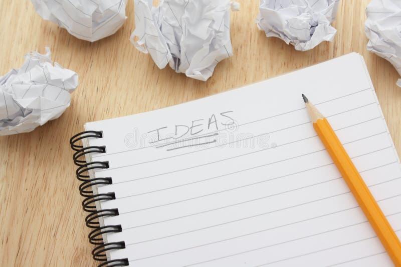 Ideeën stock afbeeldingen
