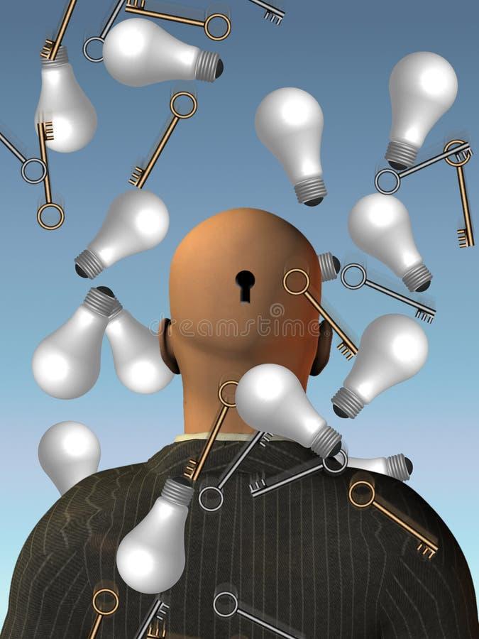 Download Idee illustrazione di stock. Illustrazione di uomo, immaginazione - 3890167