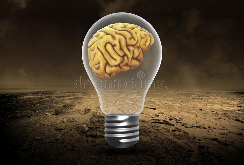 Idee, cervelli, innovazione, successo, scopi, successo fotografia stock
