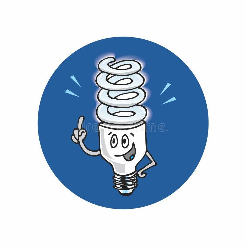 Idee CFL royalty-vrije stock fotografie