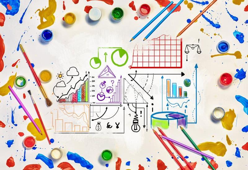 Idee creative per il vostro affare immagine stock libera da diritti
