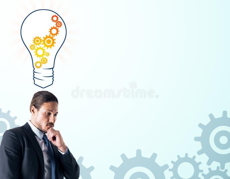 Idee en innovatieconcept stock afbeelding
