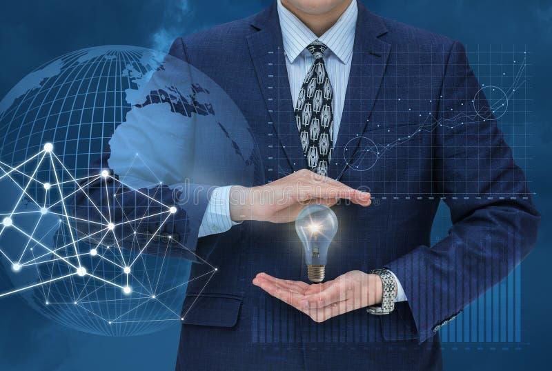 Idee für erfolgreichen Handel im Markt stockfoto