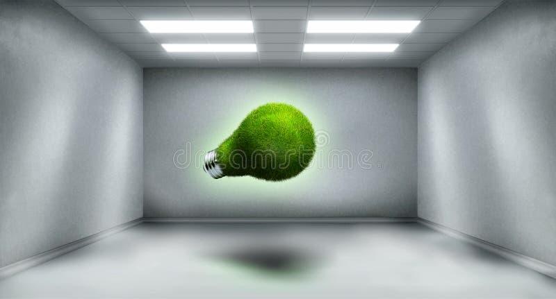 Idee in ruime ruimte vector illustratie