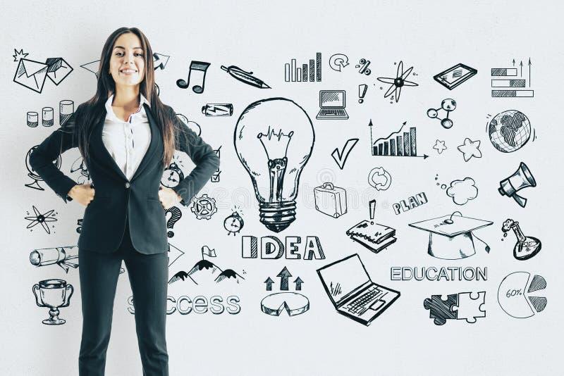 Idee und Finanzkonzept lizenzfreie stockfotos