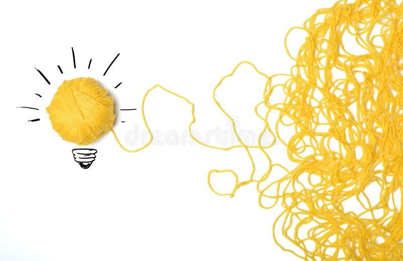 Idee und Innovationskonzept stockbilder