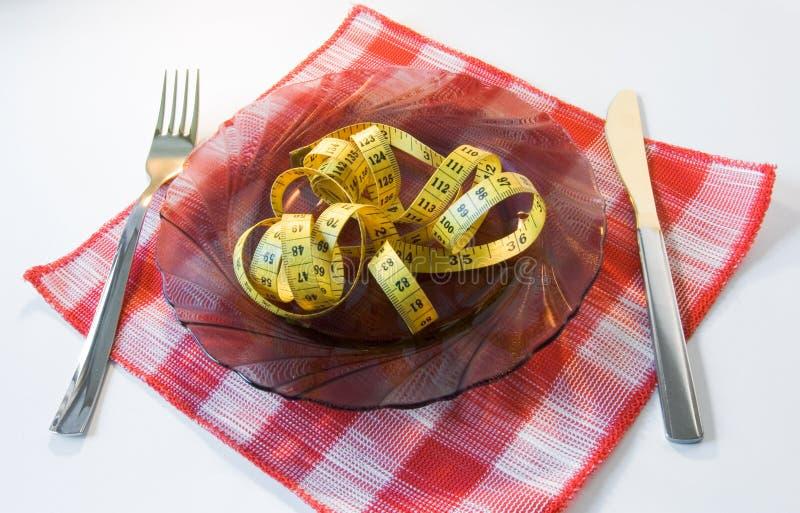 Idee van dieet royalty-vrije stock fotografie