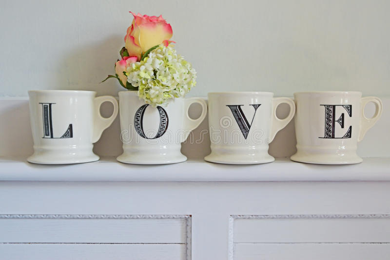 Idee voor Huisdecoratie voor Liefde stock fotografie