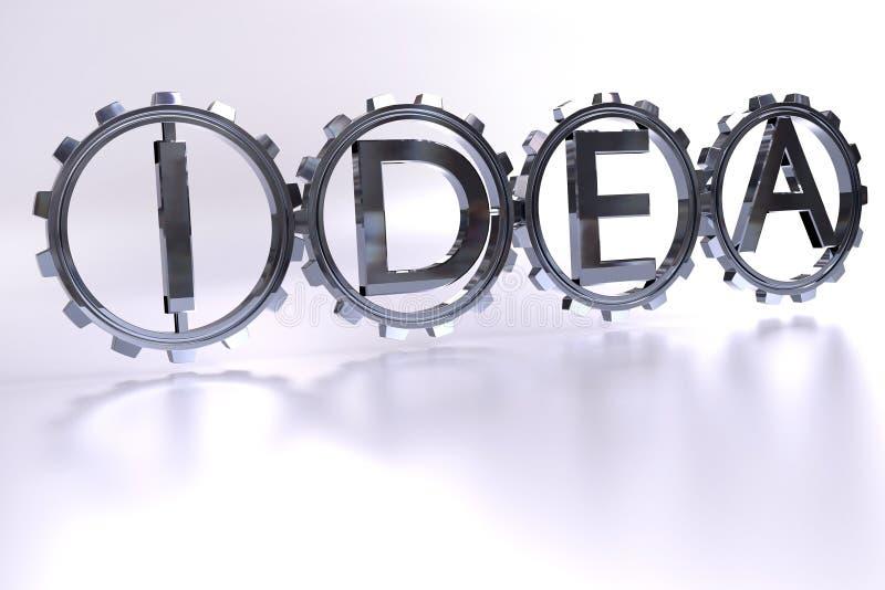 Ideeconcept vector illustratie