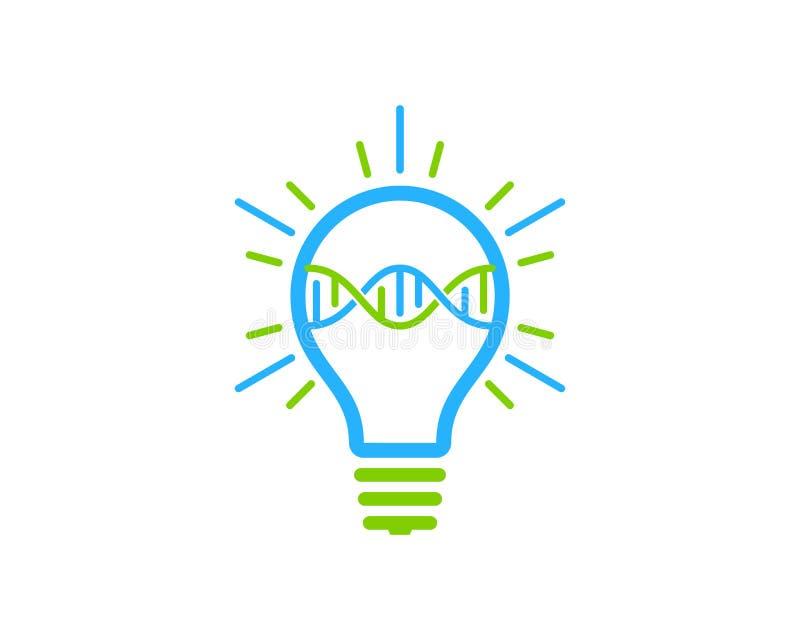 Ideedna Logo Icon Design royalty-vrije illustratie