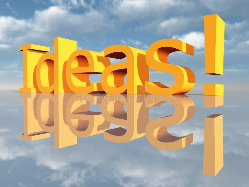 Ideen vektor abbildung