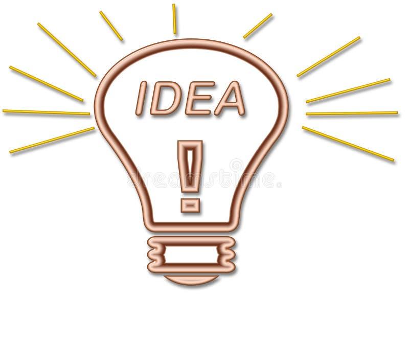 Ideen-Fühler libre illustration