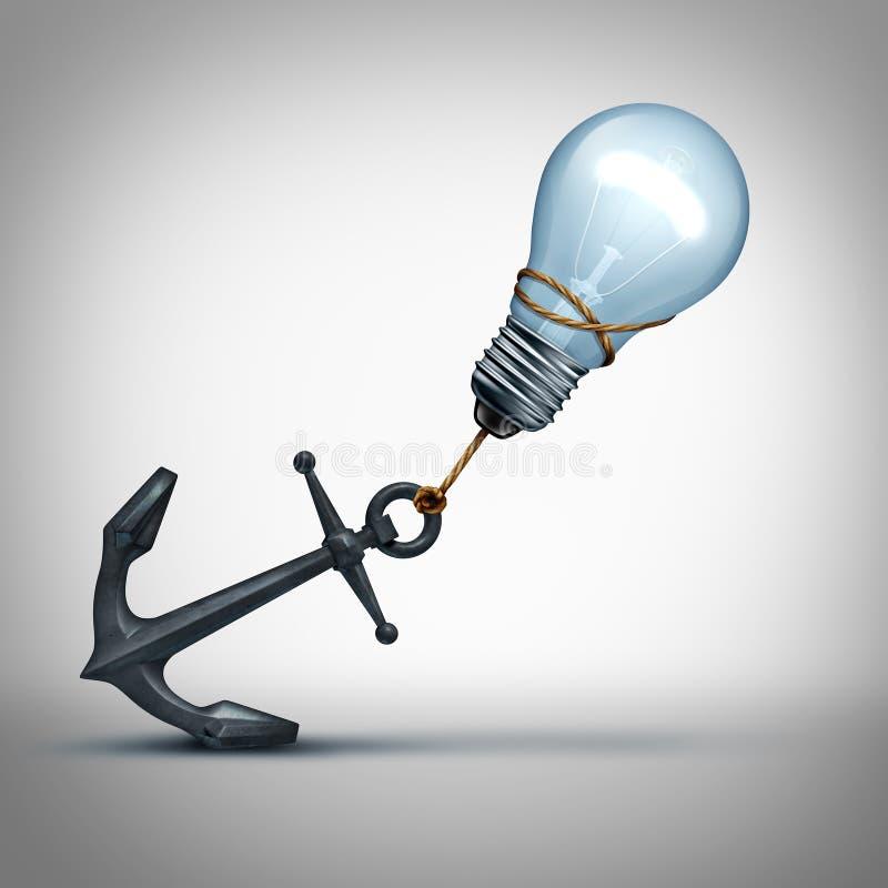 Ideen-Problem lizenzfreie abbildung