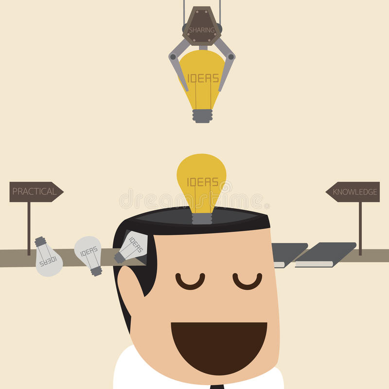 Ideenfabrik vektor abbildung
