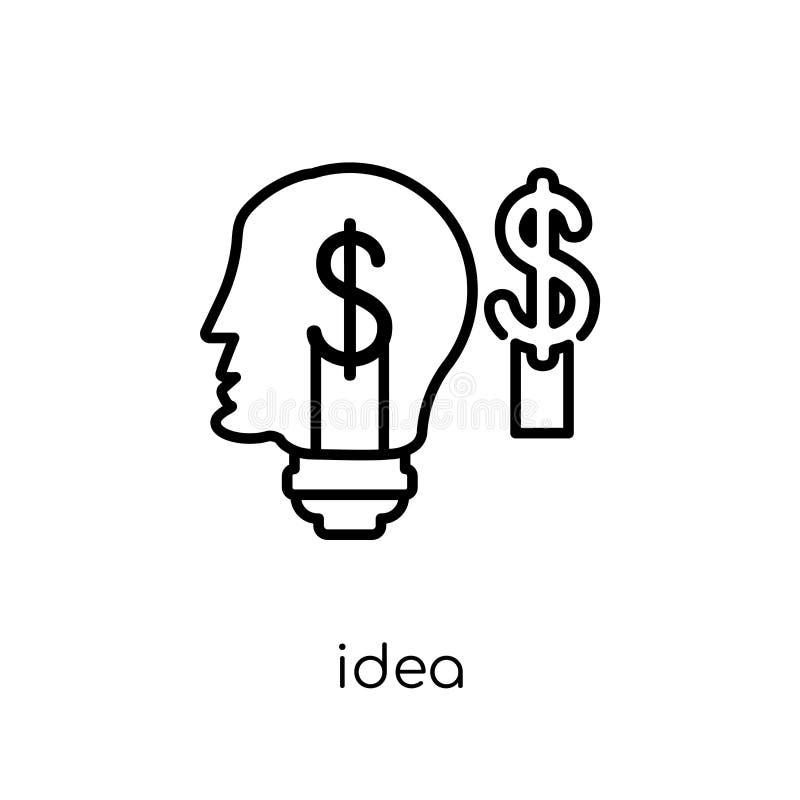 Ideenikone von der Sammlung vektor abbildung