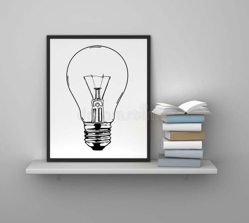 Ideenkonzept lizenzfreie abbildung