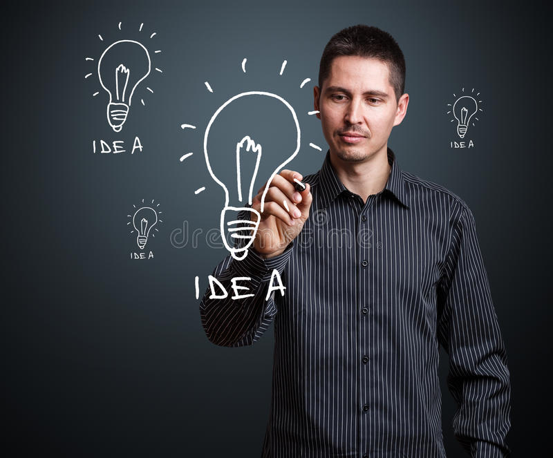 Ideenkonzept lizenzfreies stockfoto