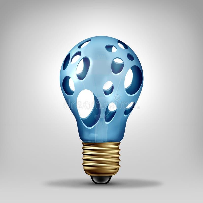 Ideenproblem lizenzfreie abbildung