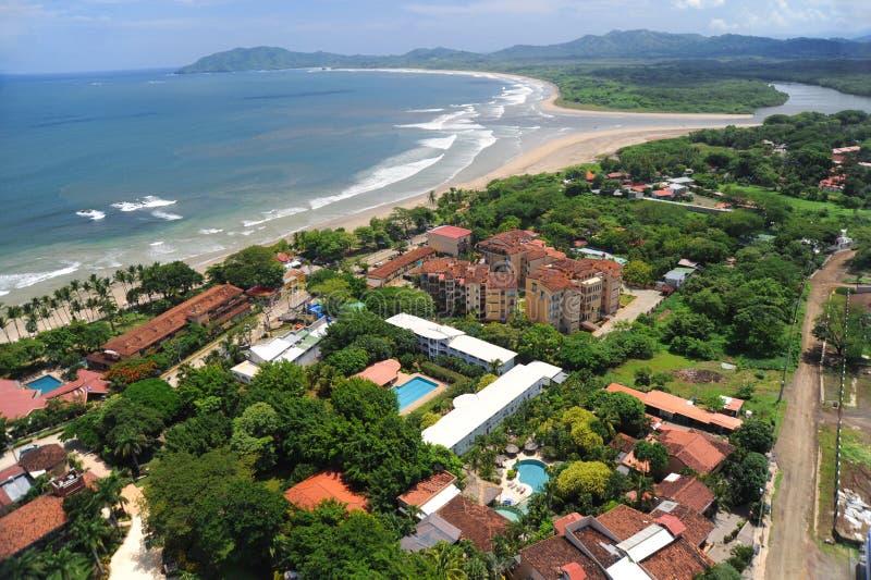 Ideia aérea de recursos ocidentais de Costa Rica imagem de stock royalty free